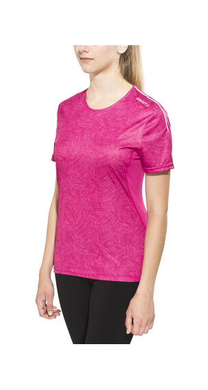 Craft Mind Løbe T-shirt Damer pink